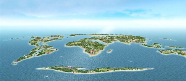 建设中的世界岛