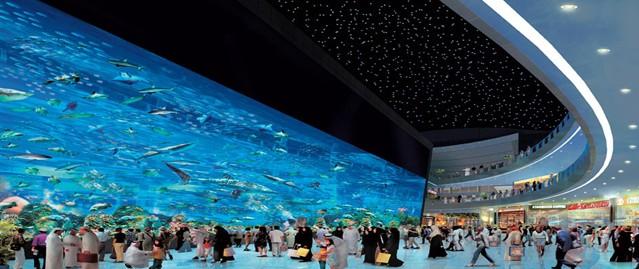 全球最大的Dubai Mall