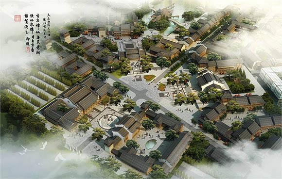 古镇规划设计